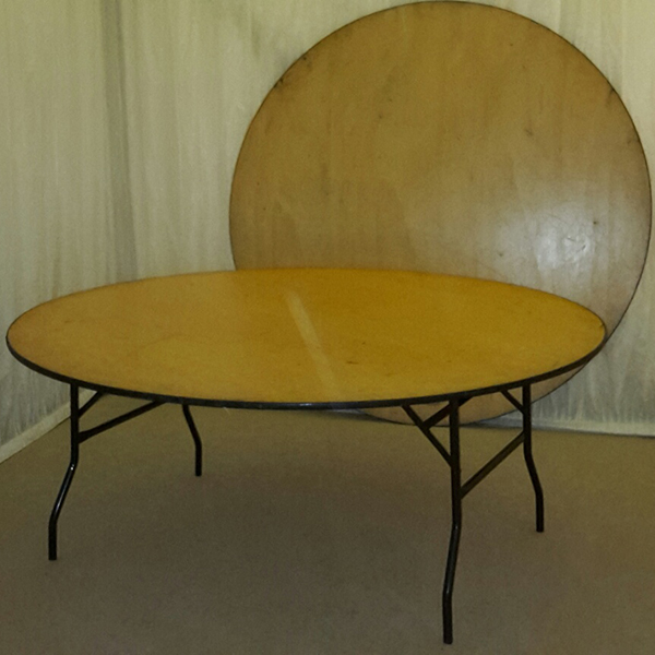 6ft Round Table Hire for Weddings