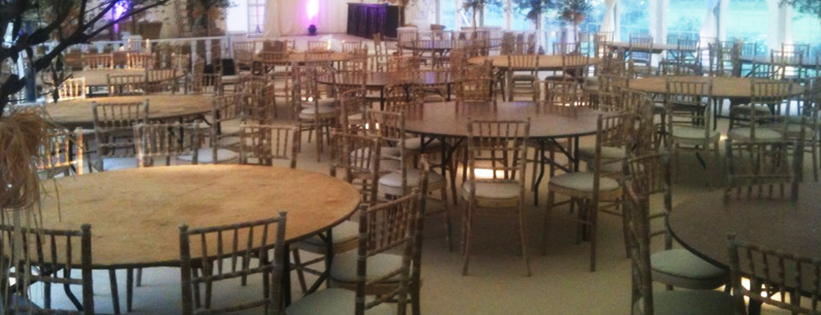 6ft Round Table Hire Furniture and Event Hire UK