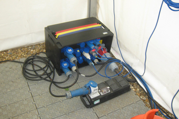 Wedding Power Distribution  Hire