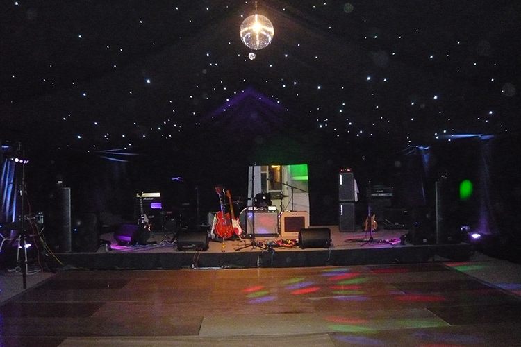 Wedding Event Stage Hire